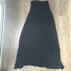 AB Studio Black Maxi Skirt- Size M